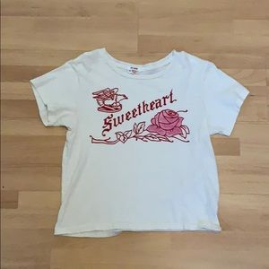 RE/DONE sweetheart classic tee